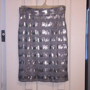 Antonio Melani size 2 sequence pencil skirt